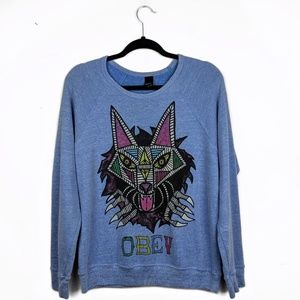 Obey | Light Weight Graphic Sweatshirt
